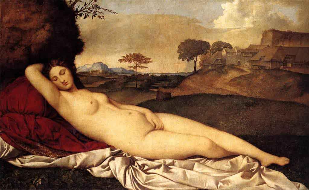 Giorgione'nin Uyuyan Venüs'ü
