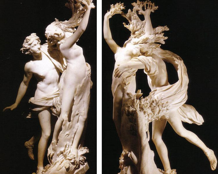 Apollo ve Daphne Heykeli - Bernini